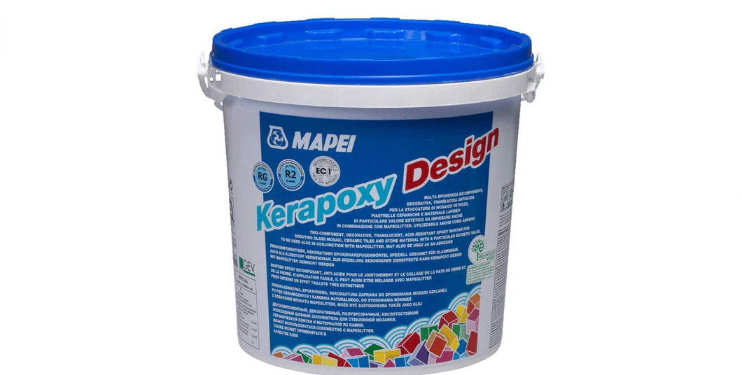 Mapei Kerapoxy Design Ice White Tile Grout