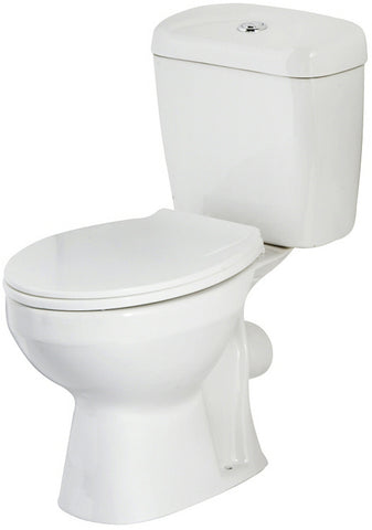 Quality Ceramic Toilet Pan & Cistern in 3 designs