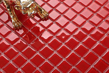 Load image into Gallery viewer, Red Glass Mosaic Bathroom Kitchen Splashback Tiles | Grand Taps