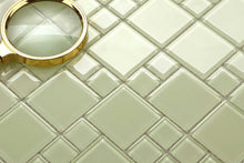 Load image into Gallery viewer, Light Green Mix Mosaic Kitchen Splashback Bathroom Tiles | Grand Taps