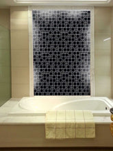 Load image into Gallery viewer, Black Gloss Modular Mosaic Kitchen Splashback Bathroom Tiles | Grand Taps