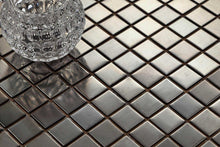 Load image into Gallery viewer, Black Stainless Steel Mosaic Bathroom Kitchen Splashback Tiles | Grand Taps