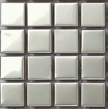 Load image into Gallery viewer, Sample of Polished Stainless Steel Mosaic Bathroom Shower Kitchen Tiles (MT0130)