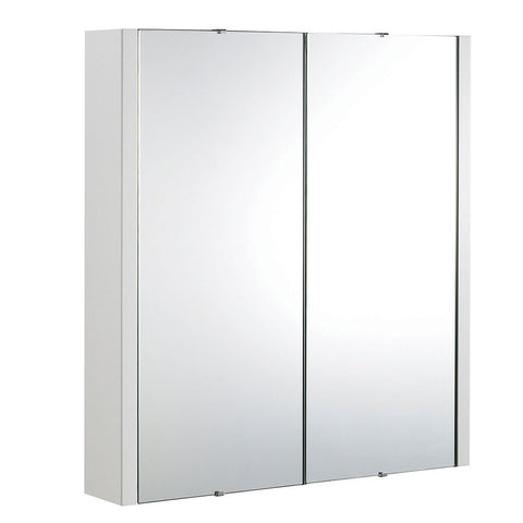 Mirrored 600mm bathroom cabinet