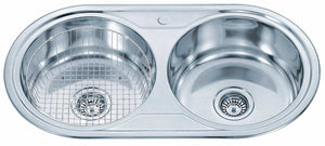 Polished Inset 2.0 Bowl Stainless Steel Sink (P01)