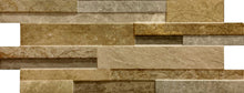 Load image into Gallery viewer, Quarzo Gold Split Face Interlocking Porcelain Tile