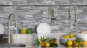 Rock Grey Split Face Porcelain Stoneware Tile