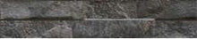 Load image into Gallery viewer, Rock Black Split Face Porcelain Stoneware Tile
