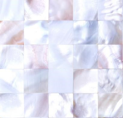 Sample of Mother of Pearl Sea Shell Mosaic Tiles sheet (MT0160)