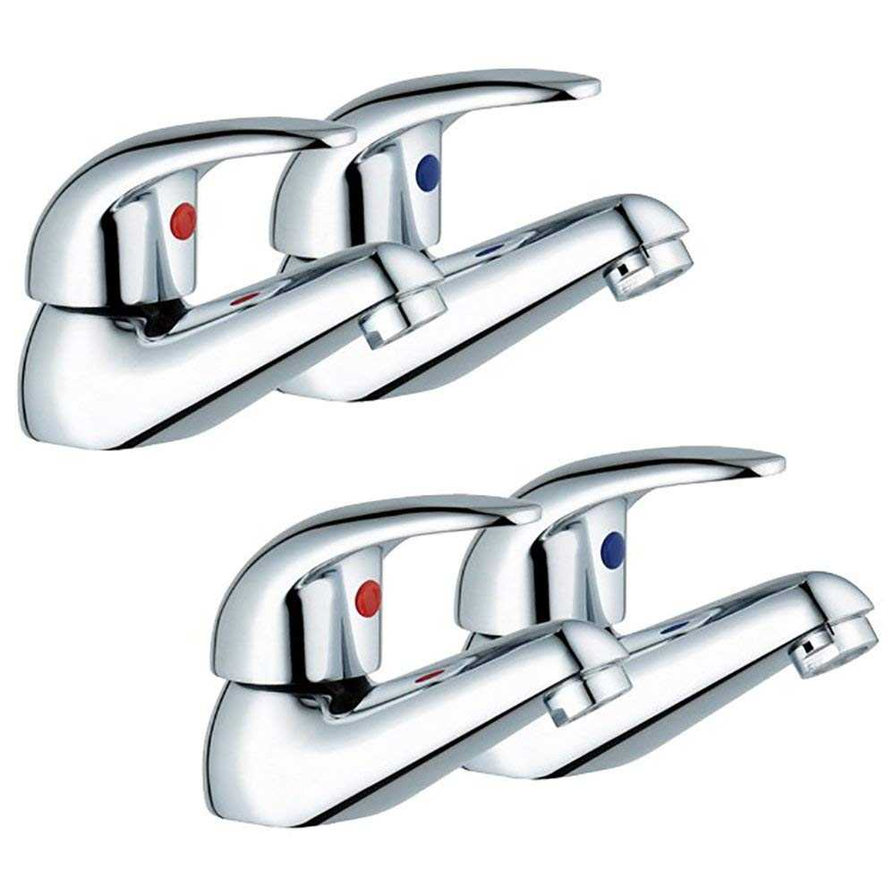 Euro Style Bath And Basin Tap Set (Aero 32)