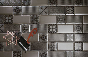 Metalico Beveled Subway Tile