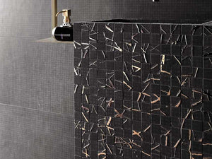 Rooy Dark Web Italian Porcelain Mosaic Tiles (IT0137)
