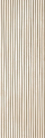Plisse Beige Italian White Body Wall Tiles (IT0018)