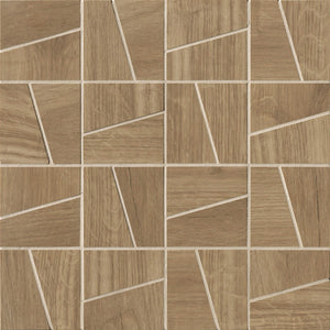 Natural Slash Italian Porcelain Mosaic Tiles (IT0162)