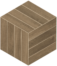 Load image into Gallery viewer, Oak Cube Italian Porcelain Mosaic Tiles (IT0158)