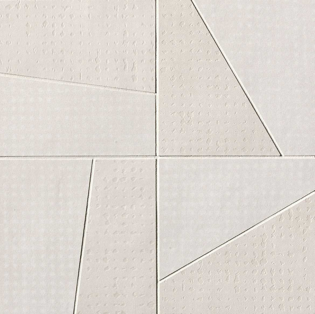 Rooy White Domino Italian Porcelain Mosaic Tiles (IT0130)