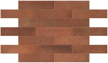 Load image into Gallery viewer, Terracotta Matt Brick Tiles | Terracotta Garden Tiles | Grand Taps