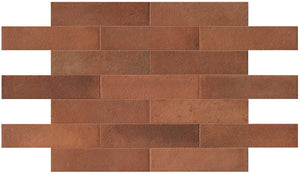 Terracotta Matt Brick Tiles | Terracotta Garden Tiles | Grand Taps