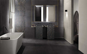 375x750mm Rooy Dark Matt Italian Porcelain Tiles (IT0123)