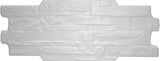 Kerastone Bianco Split Face Interlocking Porcelain Wall Tile