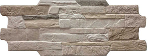 Kerastone Monviso Split Face Interlocking Porcelain Wall Tile