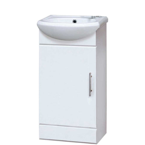 Cloakroom Cupboard with Inset Basin & Waste
