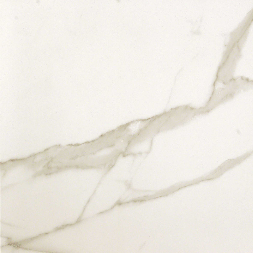 600x600mm Statuario Brillante Italian Porcelain Tiles (IT0078)
