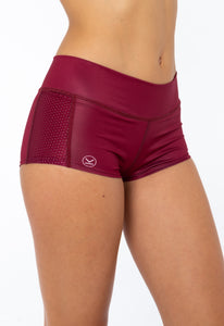 BURGUNDY MINISHORT - Spain Collection