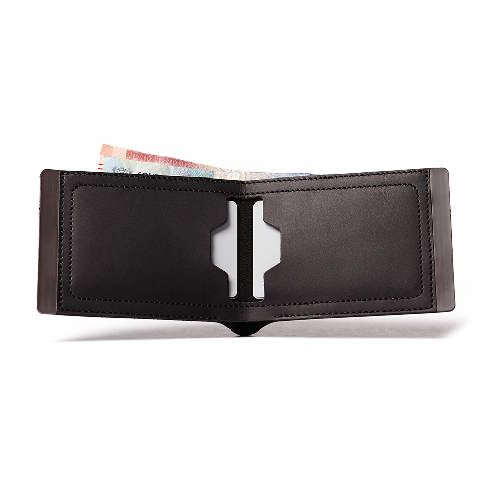 BLACK BILLFOLD - MATBLAC leather wallet