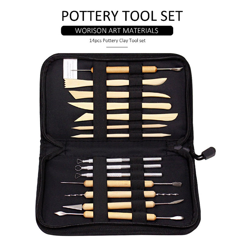 SCULPTURE TOOLS (14pcs)