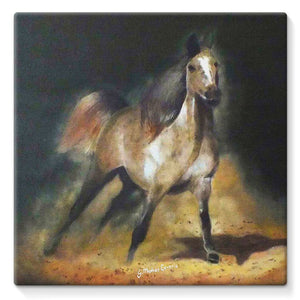 """EQUUS"" Stretched Canvas"