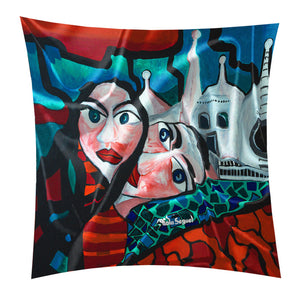 """LOVERS ENCOUNTER"" Tapestries"