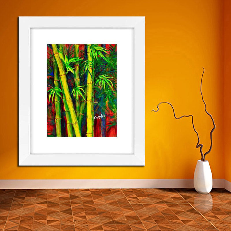 """BAMBOO FOREST"" Framed Fine Art Print"