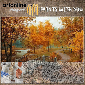 AUTUMN LANDSCAPE (To Paint)