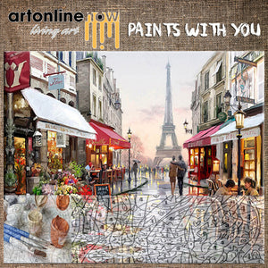 LOVE IN PARIS (To Paint)