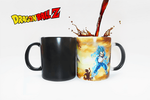 Super Saiya Blue Vegeta Color Changing Mug - Farertop
