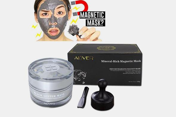 Magnetic Mineral Face Mask - Farertop
