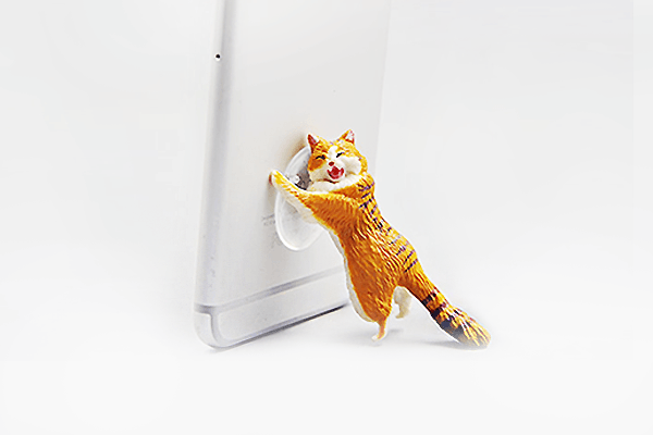 Sucker Cat Phone Stand - Farertop