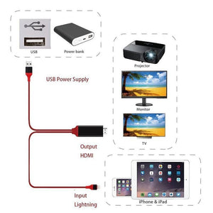 Lightning To HDMI Adapter Cable - Farertop