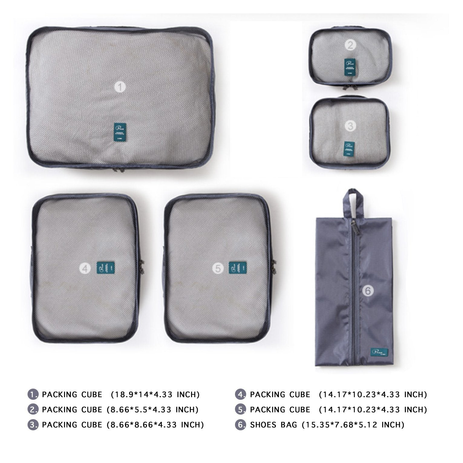 SMART PACKING BAGS(6 pieces) - Farertop
