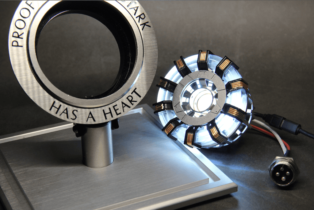 1:1 scale Iron Man Arc Reactor - Farertop
