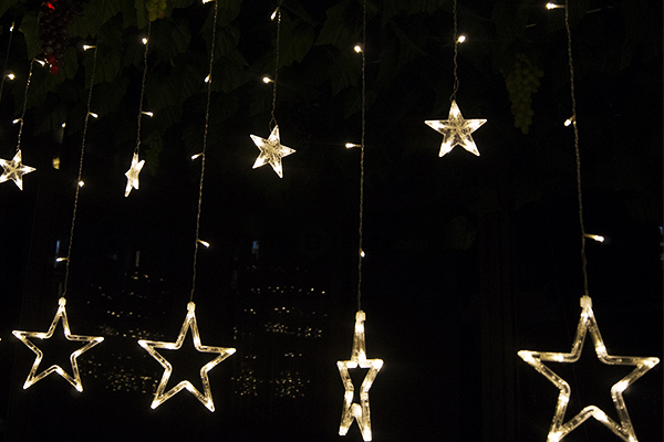 12 LEDs Star String Light - Farertop