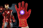 Iron Man Emitter Flash Cosplay Glove - Farertop