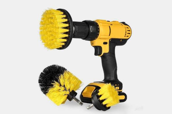 Power Scrubber Brush (3 PCS) - Farertop