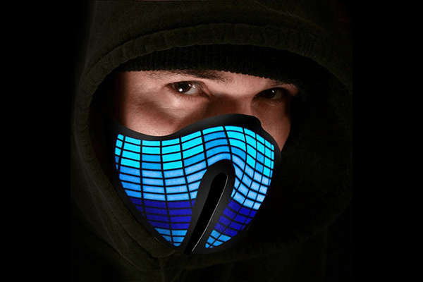 LED Rave Mask (Grid Mask)