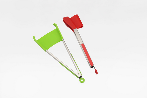2 in 1 Clever Spatula and Tongs - Farertop