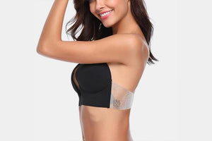 Deep-U Invisible Push Up Bra - Farertop