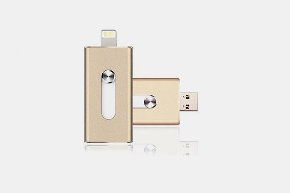 3-in-1 Flash Drive for iOS/Android/PC - Farertop