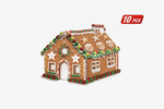 3D Gingerbread House Cookie Cutters - Farertop
