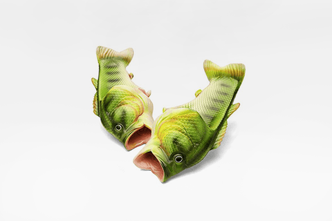 Freaky Fish Slippers - Farertop